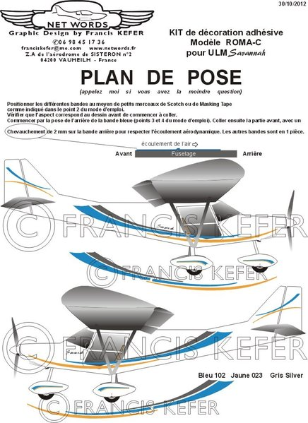 Exemple de plan de pose joint au KIT de décoration.\\n\\n08/01/2013 10:58
